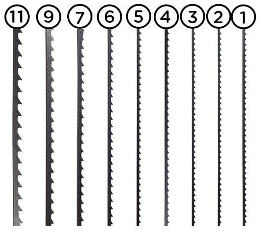 Eberle Blitz Düz Ahşap Kıl Testere Ucu 12' li Paket - No:4 4
